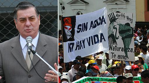 """Valdés repudió muertes en Cajamarca: """"No podemos seguir soportando estos dirigentes"""""""