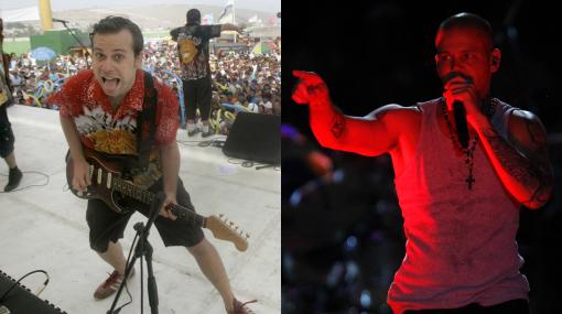 """Bareto sobre Calle 13: """"Nos cerraron con el equipo de sonido"""""""