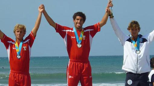 Tablista Cristóbal de Col ganó el oro en Juegos Sudamericanos de Playa