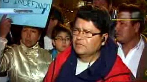 Jefe de la Dircote explicó por qué retuvo a Saavedra durante nueve horas
