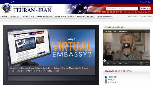 EE.UU. abrió embajada virtual en Irán pero Teherán la bloqueó un día después