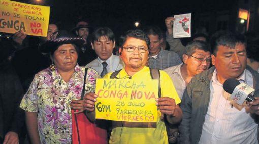Wilfredo Saavedra denunciará a quienes participaron en su detención