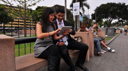 Miraflores relanzó servicio de Wi Fi en cuatro parques