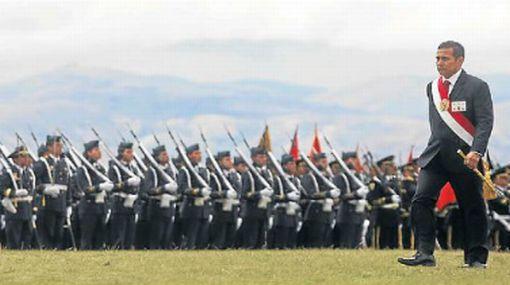 Presidente Ollanta Humala propone replantear el servicio militar