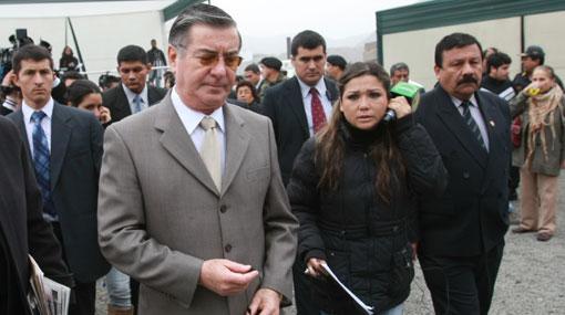 Primer Ministro Valdés no llegó a Trujillo debido al mal clima
