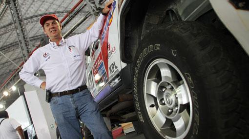 """Peruano que estará en el Dakar: """"Es el sueño de todo piloto"""""""