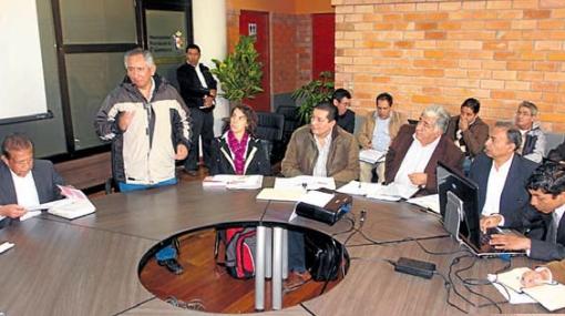 Tres ministros llegaron a Cajamarca para informar sobre inversión estatal