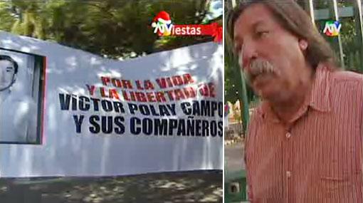 Líder del MRTA Víctor Polay iba a tener un busto en Chile