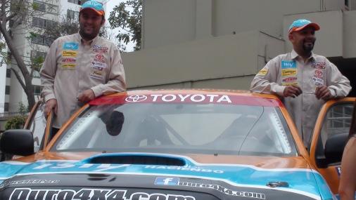 Todos en la meta: peruanos en autos finalizan tercera etapa del Dakar