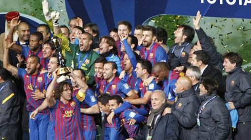 El Barcelona goleó 4-0 al Santos y ganó el Mundial de Clubes por segunda vez