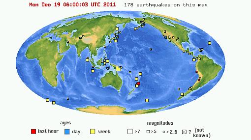 Minutos antes de sismo en Lima hubo dos temblores en Argentina y Oceanía