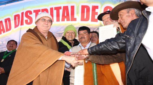 Ejecutivo, minera y comunidades llegaron a acuerdo por proyecto Magistral