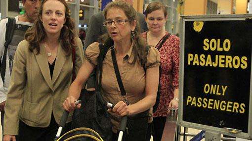 Lori Berenson logró viajar a EE.UU. para pasar fiestas de fin de año