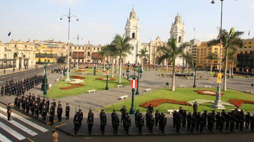 La Plaza de Armas es el lugar más emblemático de la ciudad