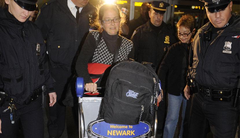 La terrorista Lori Berenson llegó a Estados Unidos sin declarar a los medios