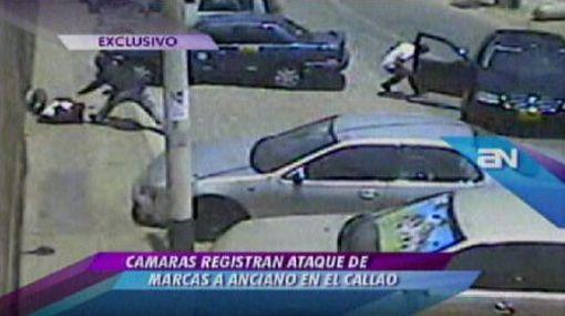 Asalto de 'marcas' en el Callao fue grabado por cámaras de seguridad