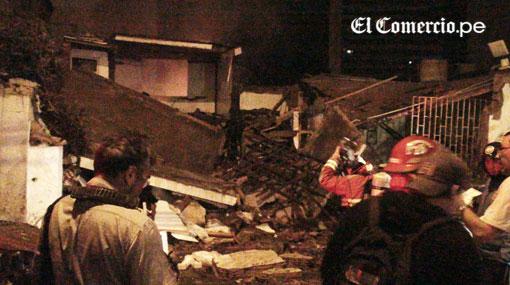 Fueron 59 las viviendas las afectadas por explosión en Miraflores