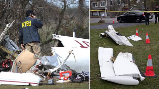 Murieron cinco personas tras estrellarse avioneta en Nueva Jersey