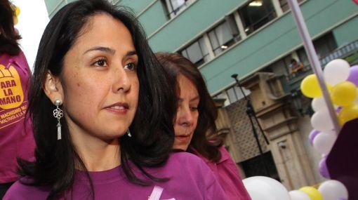 Nadine Heredia hace eco de malestar por permisos de viaje a terroristas