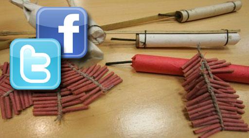 Las redes sociales son utilizadas para vender pirotécnicos ilegales