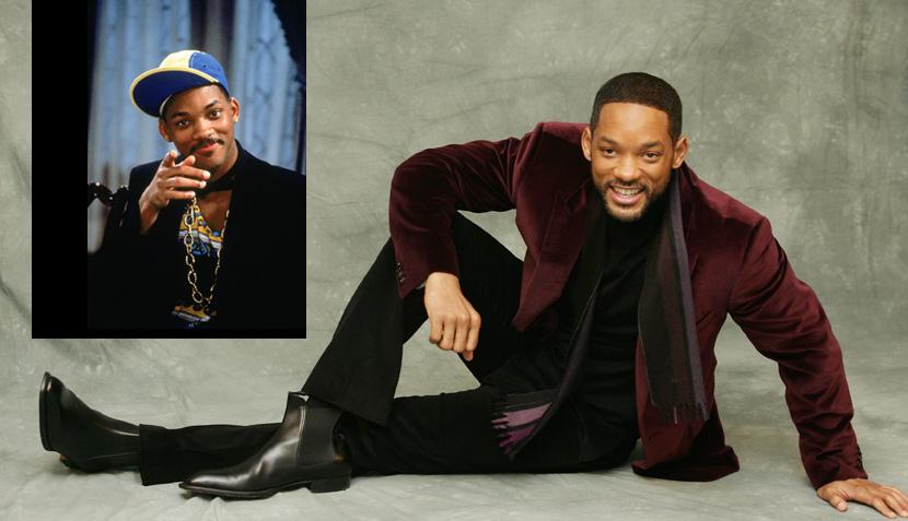 """El antes y el después de los actores de """"El príncipe del rap"""""""