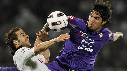 Con Juan Vargas como titular, Fiorentina empató 2-2 con Parma