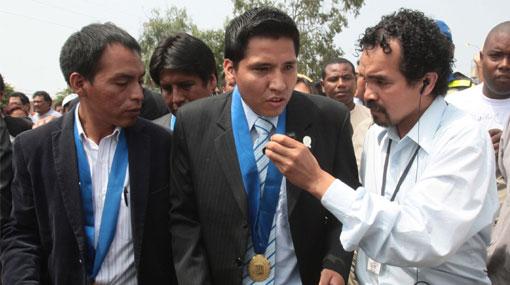 Guido Iñigo, de 26 años, asumió la alcaldía de Villa El Salvador