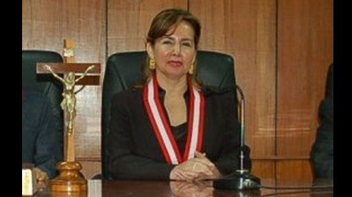 Elvia Barrios juró hoy como nueva jueza suprema de la República