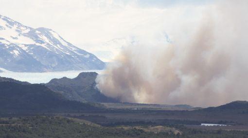Dantesco incendio consume 5.700 hectáreas en parque de la Patagonia chilena