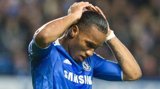 Drogba es duda en Chelsea para partido de vuelta contra el Barcelona