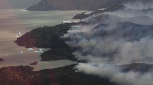 Presunto responsable de incendio en Chile quedó en libertad provisional