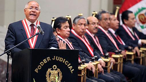 Presidente del PJ garantizó juicio justo en caso Chavín de Huántar