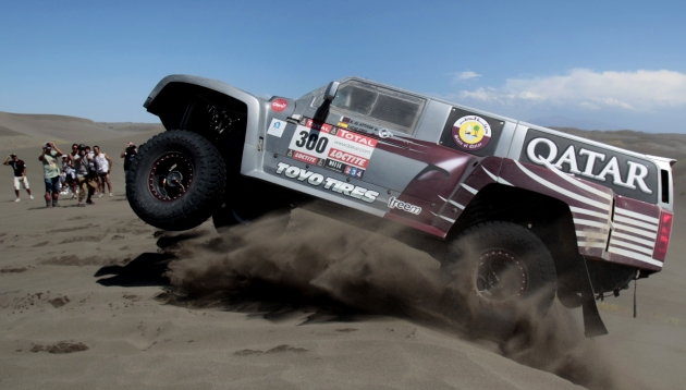 Cómo se alimentan los pilotos del Dakar para resistir la competencia