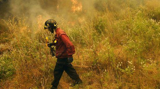 Chile: aumentan a 45 mil las hectáreas afectadas por incendios forestales