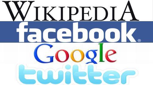 Wikipedia, Facebook, Google y Twitter se unirían en protesta sin precedentes