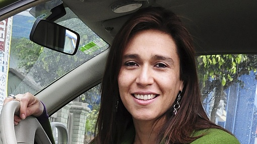 Verónica Linares reveló que hace 'topless' en su terraza