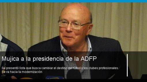 """Presidente de ADFP será """"elegido"""" en elecciones con un solo candidato"""