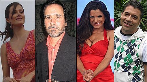 Los canales de TV reforzaron con estos famosos su programación 2012