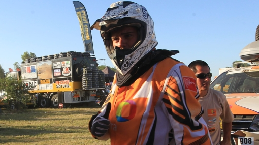 Baja peruana en Dakar: motociclista Eduardo Heinrich abandonó el rally