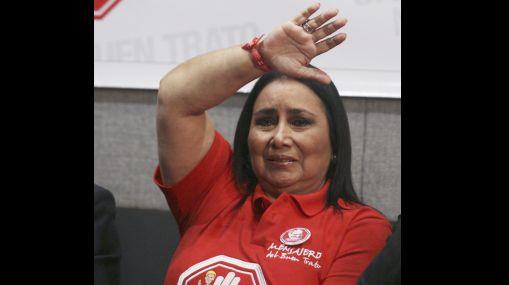 Aída García Naranjo fue absuelta del delito de colusión por el Poder Judicial