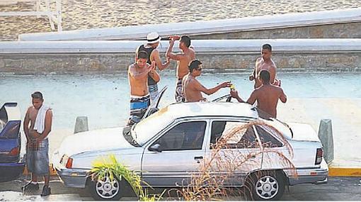 Nadie fiscaliza ni sanciona consumo y venta de licor en La Herradura