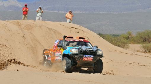 El equipo peruano de autos en Dakar acabó la etapa en el puesto 35