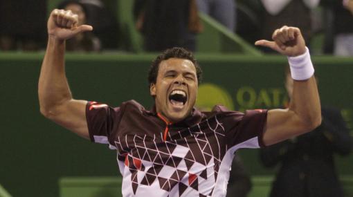 Jo-Wilfried Tsonga ganó la final del Abierto de Qatar