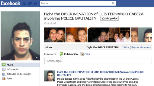 Campaña en Facebook busca la libertad de peruano agredido en EE.UU.