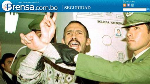 Recapturan en Bolivia a peruano de MRTA condenado por secuestro