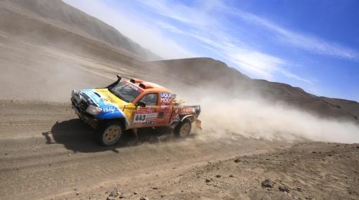 Rally Dakar: todos los pilotos peruanos cerraron la etapa de hoy