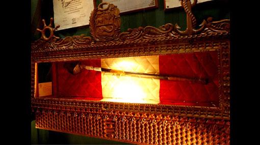Cusco entregará espada de Miguel Grau a la Marina de Guerra