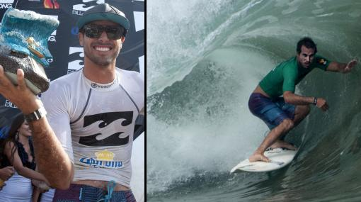 Javier Swayne ganó competencia de tabla en Cabo Blanco