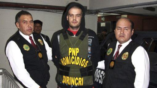 Van der Sloot fue conducido al penal de Piedras Gordas