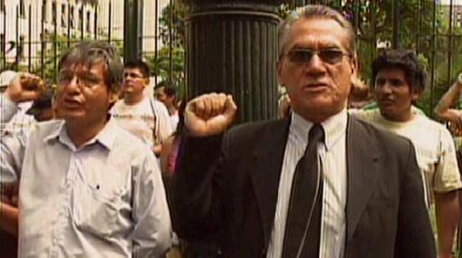 Fiscalía inició investigación contra Movadef por supuestas firmas falsas